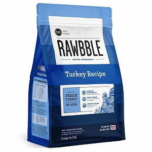 Bixbi Rawbble Ancient Grain Turkey Limited Ingredient Dry Dog Food