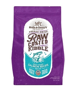 Stella & Chewy's Cat Raw Coated Kibble Wild-Caught Salmon