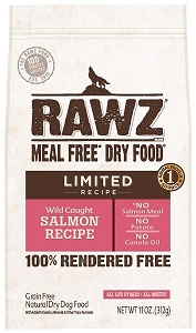 Rawz Meal Free Dry Dog Food - Limited Recipe Wild Caught Salmon