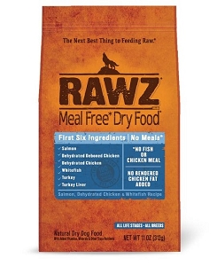Rawz Meal Free Dry Dog Food - Salmon, Dehydrated Chicken & WhiteFish