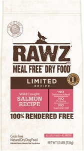 Rawz Meal Free Dry Food Limited Wild Caught Salmon Recipe Dry Dog Food
