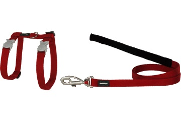 Red Dingo Cat Harness / Lead Combo