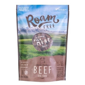 [PROMO - BUY 1 FREE 1] Roam Free Grass-Fed Beef Grain Free Air Dried Dog Food