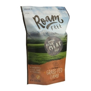 Roam Free Grass-Fed Lamb Grain Free Air Dried Dog Food