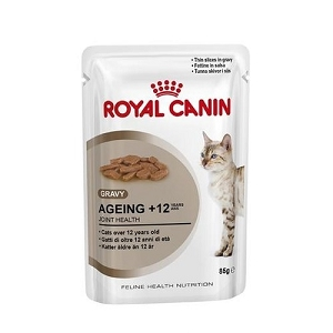 Royal Canin Feline Health Nutrition Ageing 12+ Pouch Cat Food 85gm x 12 pouches