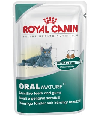 Royal Canin Feline Oral Mature 85gm x 12 pouches