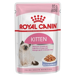 Royal Canin Feline Health Nutrition Kitten Pouch Cat Food 85g x 12 pouches