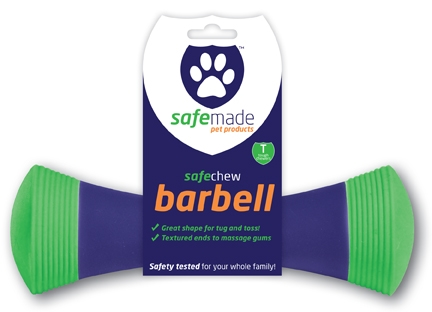 Safemade Safechew Green / Blue Barbell