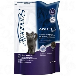 Sanabelle Adult with Tasty Ostrich Meat Dry Cat Food