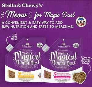[LAUNCH SALE] Stella & Chewy's Marie's Magical Dinner Dust for Cats