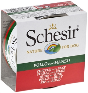 Schesir Canned Chicken Fillets With Beef 150g