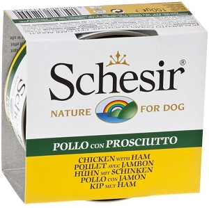 Schesir Canned Chicken Fillets With Ham 150g