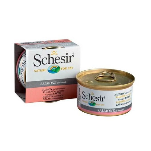 Schesir Canned Salmon in Water Cat Food