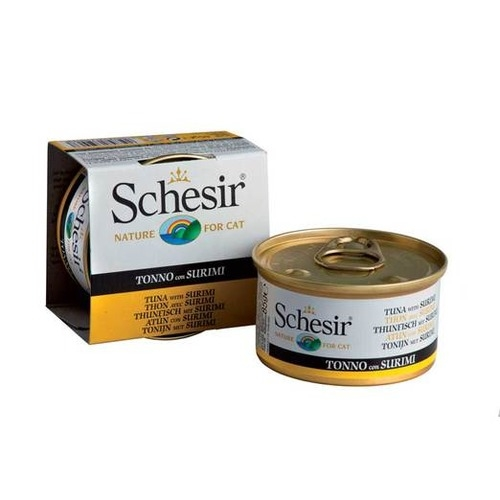 Schesir Canned Tuna with Surimi in Jelly Cat Food