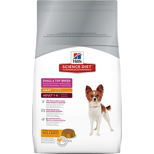 Science Diet Canine Light Small & Toy Breed