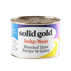Solid Gold Indigo Moon Canned Cat Food Blended Tuna 6oz