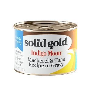 Solid Gold Indigo Moon Canned Cat Food Mackerel & Tuna 6oz