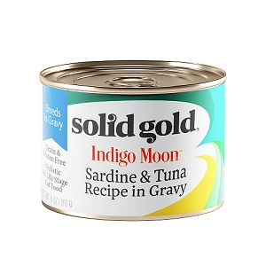 Solid Gold Indigo Moon Canned Cat Food Sardine & Tuna 6oz