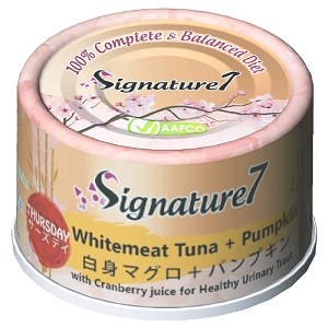 Signature7 THURSDAY Whitemeat Tuna + Pumpkin