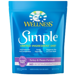 [UP TO 30% OFF w/ FREE TREATS for Large bag] Wellness Simple Solutions Turkey