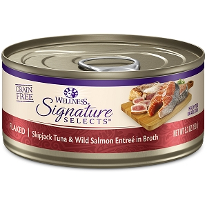 Wellness Cat Canned Core Signature Select Flaked Tuna & Salmon