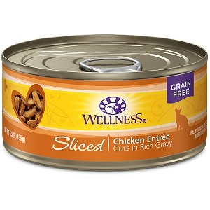 Wellness Canned Cat Complete Health™ Sliced Chicken Entree