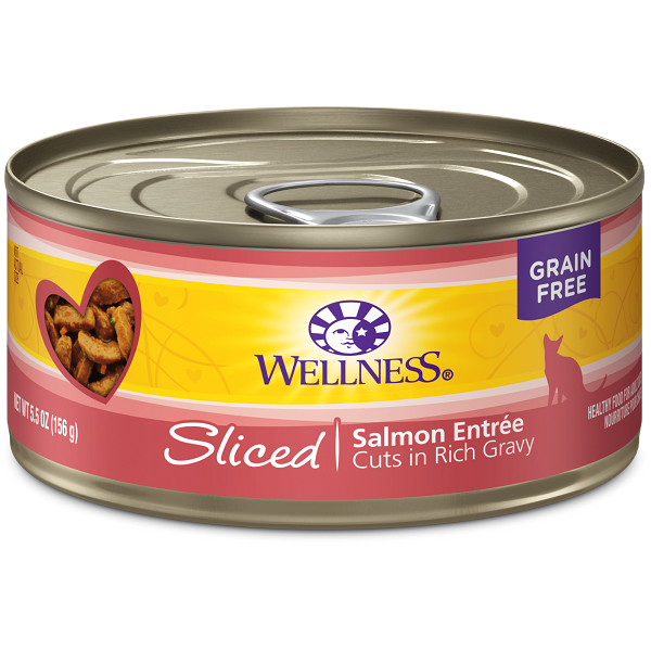 Wellness Canned Cat Complete Health™ Sliced Salmon Entree