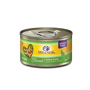Wellness Canned Cat Complete Health™ Sliced Turkey Entree