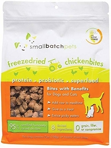 Small Batch Freeze Dried Chicken Bites 7oz