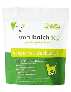 Small Batch Freeze Dried Duck 14oz