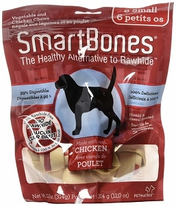 SmartBones Rawhide Free Chicken Dog Chew Pack