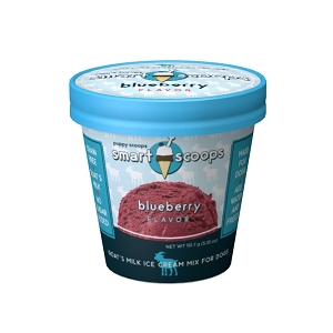 Smart Scoops Goat's Milk Ice Cream Mix - Blueberry 4.65oz