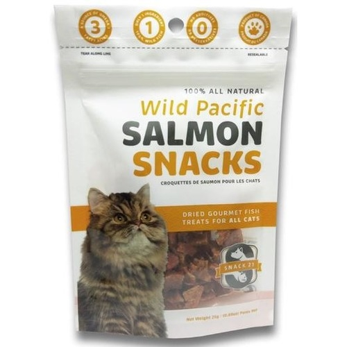 Snack 21 Wild Pacific Salmon Snacks Cat Treats