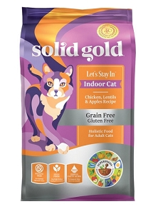 Solid Gold Let's Stay In™ With Grain & Gluten Free Chicken, Lentils & Apples Recipe Dry Cat Food