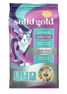 Solid Gold Let's Stay In™ With Grain & Gluten Free Salmon, Lentils & Apples Recipe Dry Cat Food