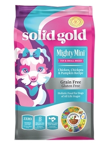 Solid Gold Mighty Mini™ With Grain & Gluten Free Chicken, Chickpea & Pumpkin Recipe Dry Dog Food