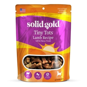 Solid Gold Tiny Tots Lamb Recipe Soft & Chewy Treats