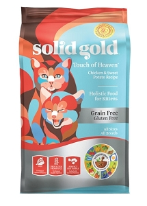 Solid Gold Touch of Heaven™ With Chicken & Sweet Potato Recipe Kitten Dry Cat Food 6lbs