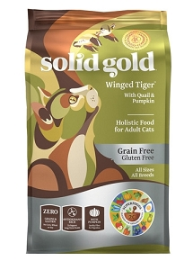 Solid Gold Winged Tiger™ With Quail & Pumpkin Dry Cat Food