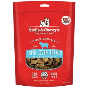 Stella & Chewy's Freeze Dried Lamb Liver Dog Treats