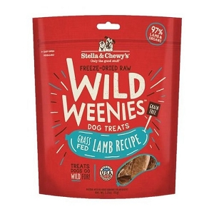 Stella & Chewy's Freeze Dried Wild Weenies Lamb Recipe Dog Treats