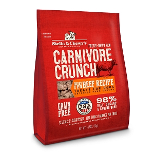 Stella & Chewy's Freeze Dried Beef Carnivore Crunch