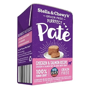 Stella & Chewy's Purrfect Pate Chicken & Salmon Medley Recipe 5.5oz