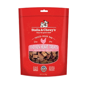 Stella & Chewy's Freeze Dried Chicken Heart Dog Treats