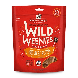 Stella & Chewy's Freeze Dried Grass-Fed Beef Wild Weenies