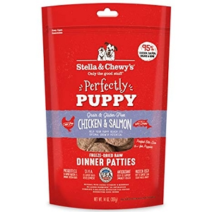 Stella & Chewy's Freeze Dried Patties Puppy Chicken & Salmon