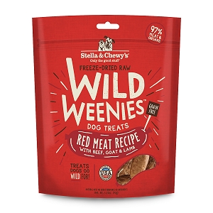 Stella & Chewy's Freeze Dried  Red Meat Wild Weenies