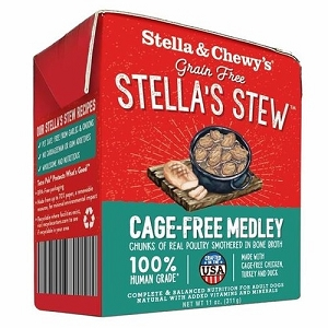 Stella & Chewy's Cage Free Chicken, Turkey & Duck Recipe Stew Medley