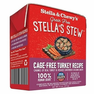 Stella & Chewy's Cage Free Turkey Recipe Stew