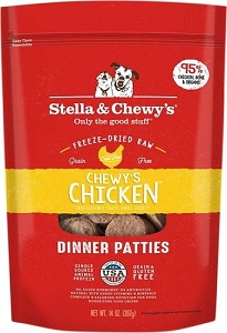 Stella & Chewy's Chewy's Chicken Dinner Freeze Dried Patties